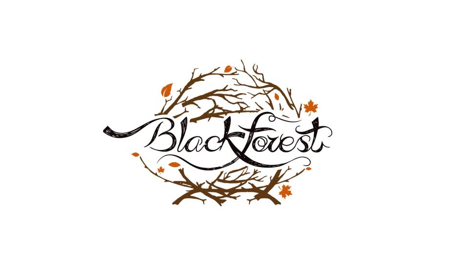 黒森林品牌LOGO设计