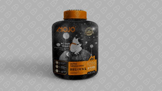 MOJO宠物粮食品牌包装设计入围方案1
