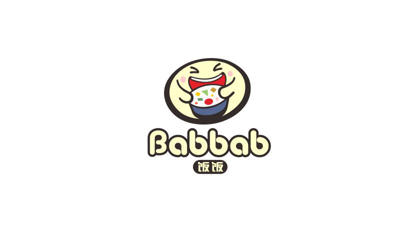 Babbab餐饮品牌LOGO设计