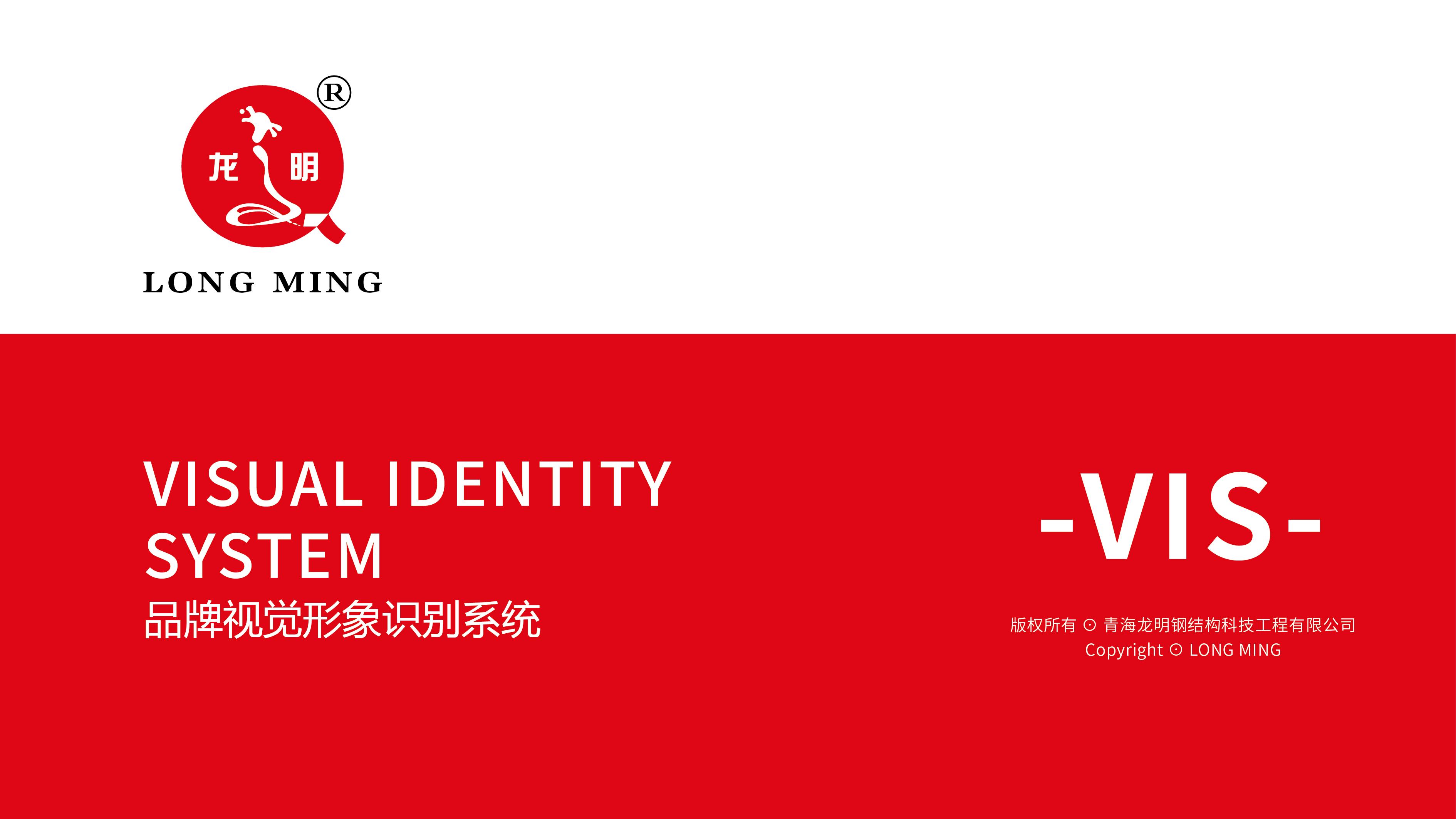 青海龙明工程公司VI设计