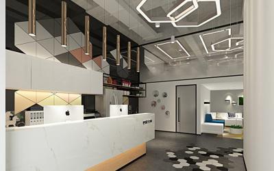 办公综合服务商空间设计案列