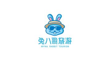 兔八哥旅游品牌LOGO设计