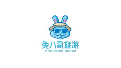 兔八哥旅游品牌LOGO設計