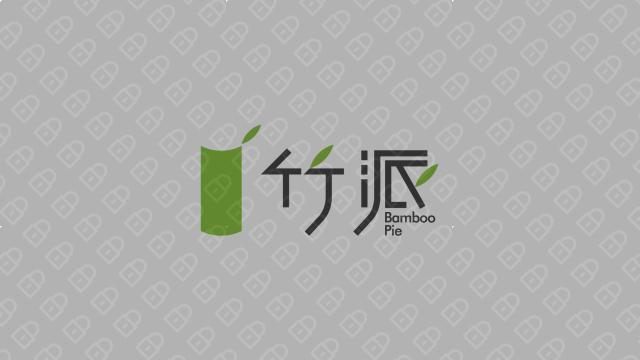 竹派商务服务公司LOGO设计入围方案3
