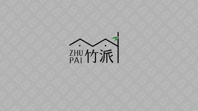 竹派商务服务公司LOGO设计入围方案2