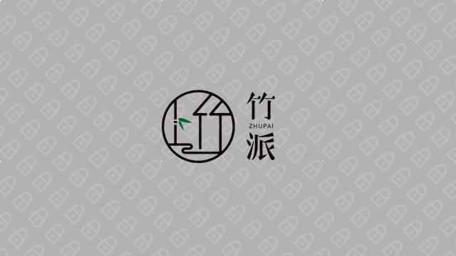 竹派商务服务公司LOGO设计入围方案1