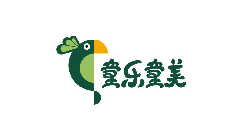 童乐童美教育公司LOGO设计