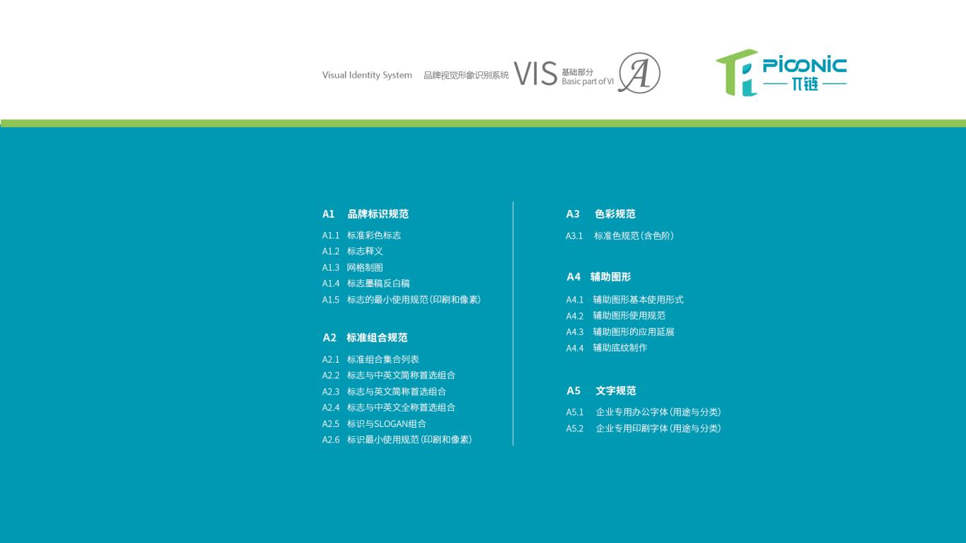 π链生鲜品牌VI设计中标图1