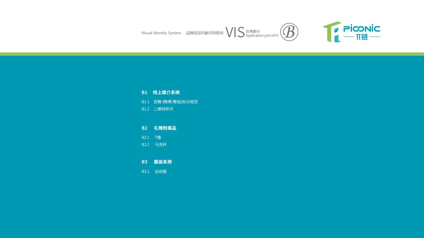 π链生鲜品牌VI设计中标图2