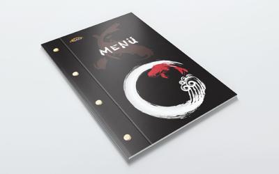 日本料理餐馆菜单设计