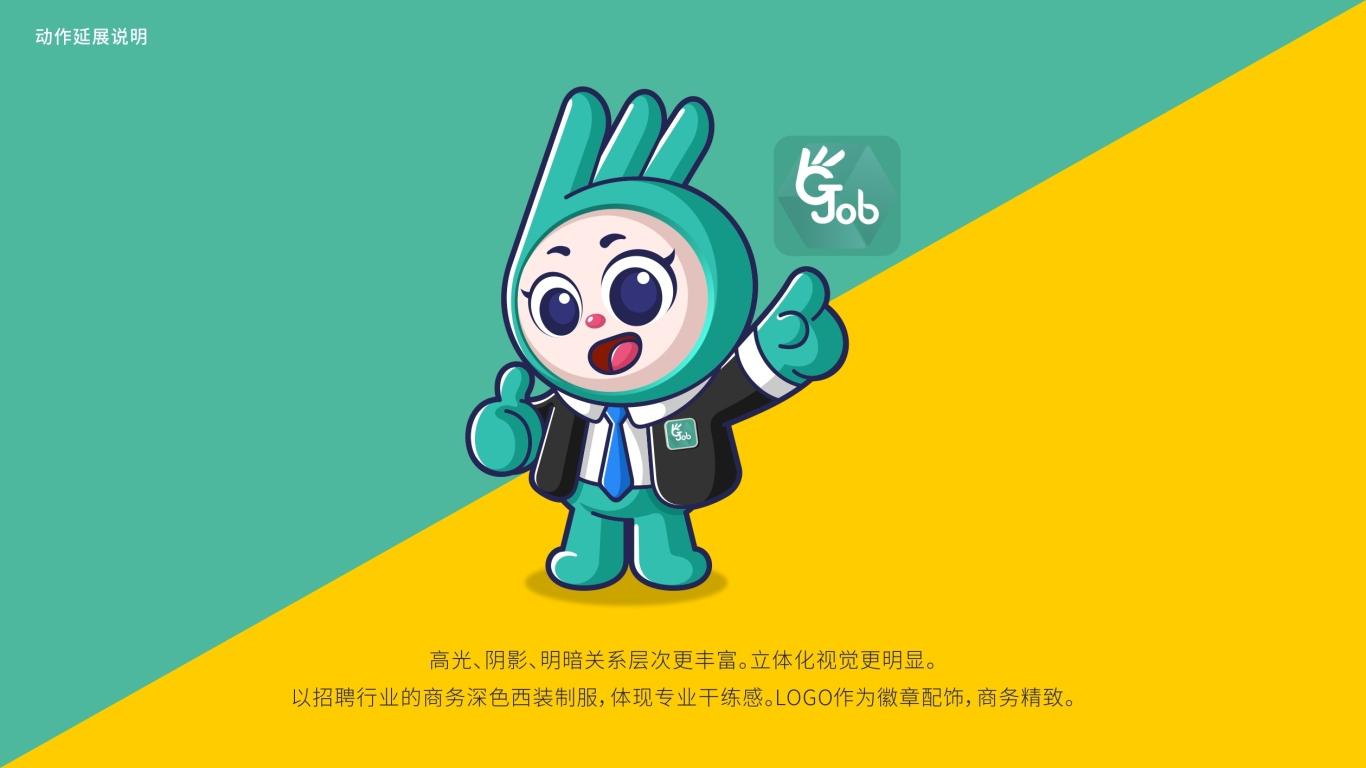 正合通信公司吉祥物设计中标图2