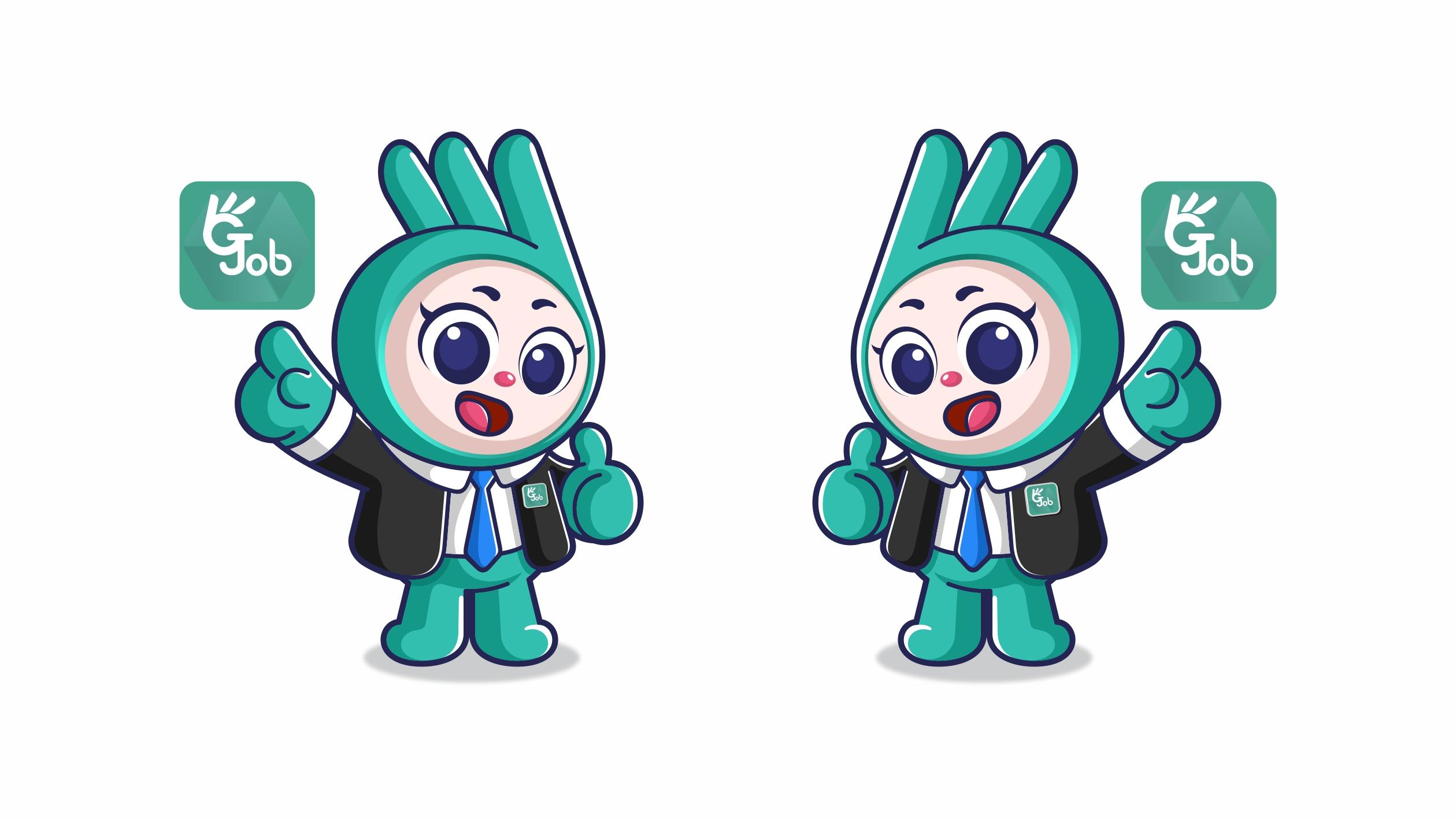 正合通信公司吉祥物设计