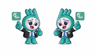 正合通信公司吉祥物設計