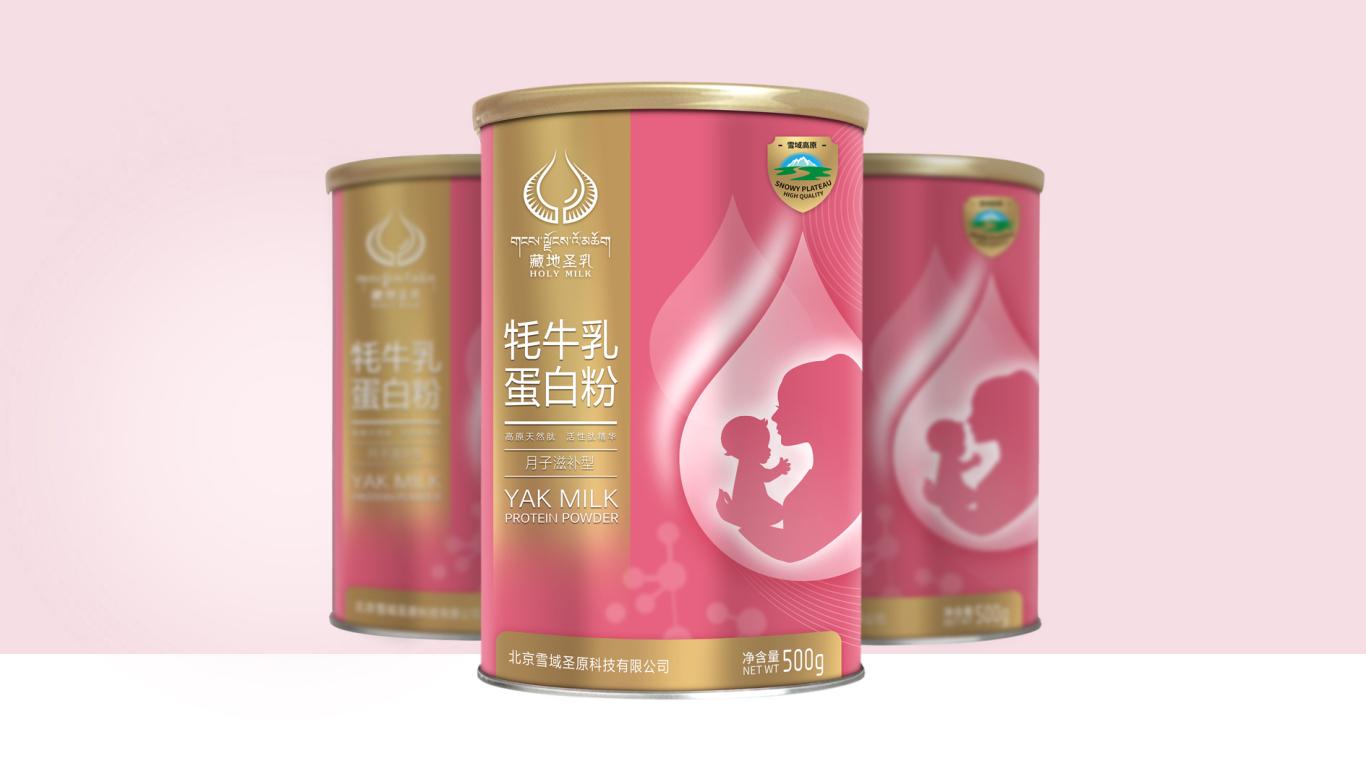 雪域圣元蛋白粉品牌包装设计中标图0