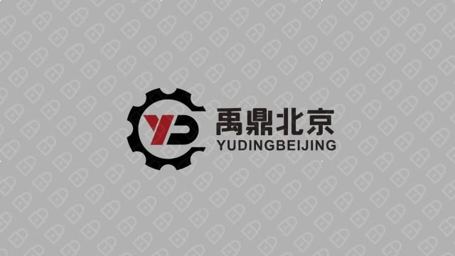 北京禹鼎品牌LOGO设计入围方案3