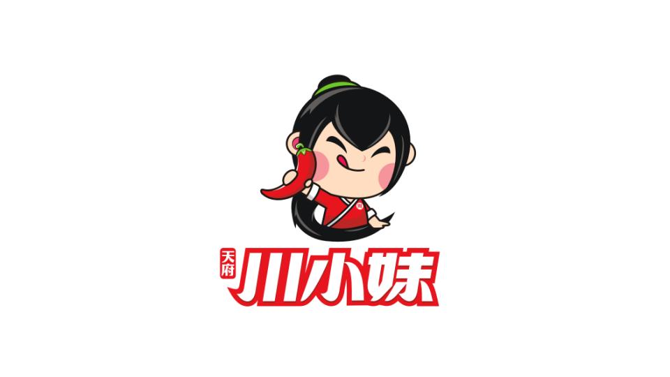 川小妹品牌LOGO设计