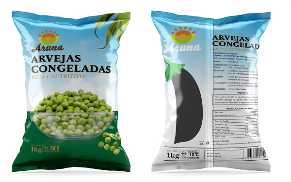 速冻蔬菜包装