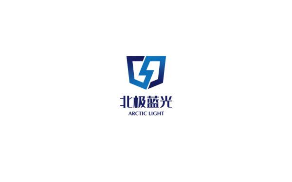 防雷电设备商【北极蓝光】LOGO方案