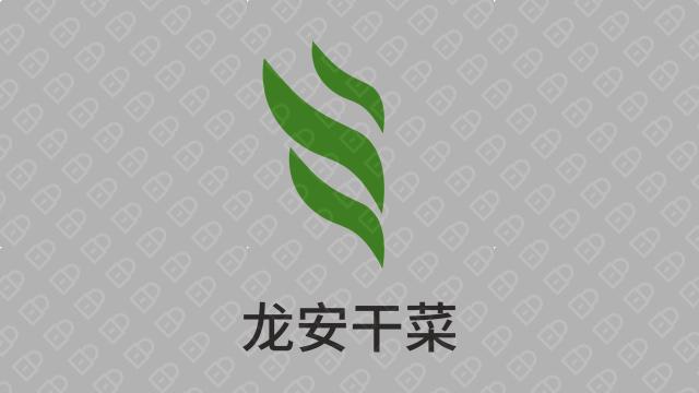 龍安干菜公司LOGO設計入圍方案2