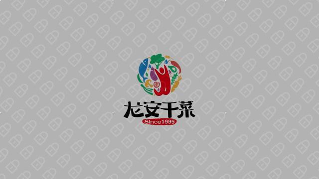 龍安干菜公司LOGO設計入圍方案3