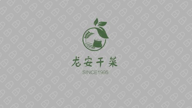 龍安干菜公司LOGO設計入圍方案9