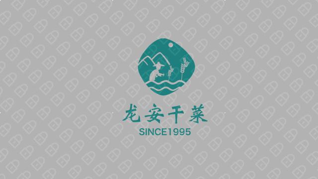 龍安干菜公司LOGO設計入圍方案8