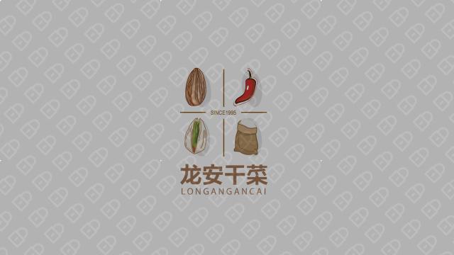 龍安干菜公司LOGO設計入圍方案10