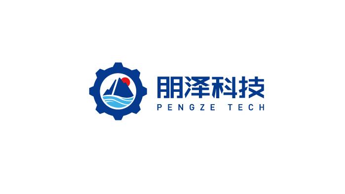 朋泽科技公司LOGO设计