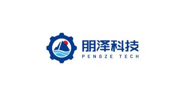 朋澤科技公司LOGO設計