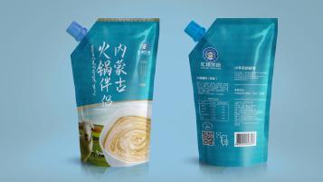 汇佳优选麻酱食品品牌包装设计