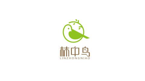 林中鳥服裝公司LOGO設計