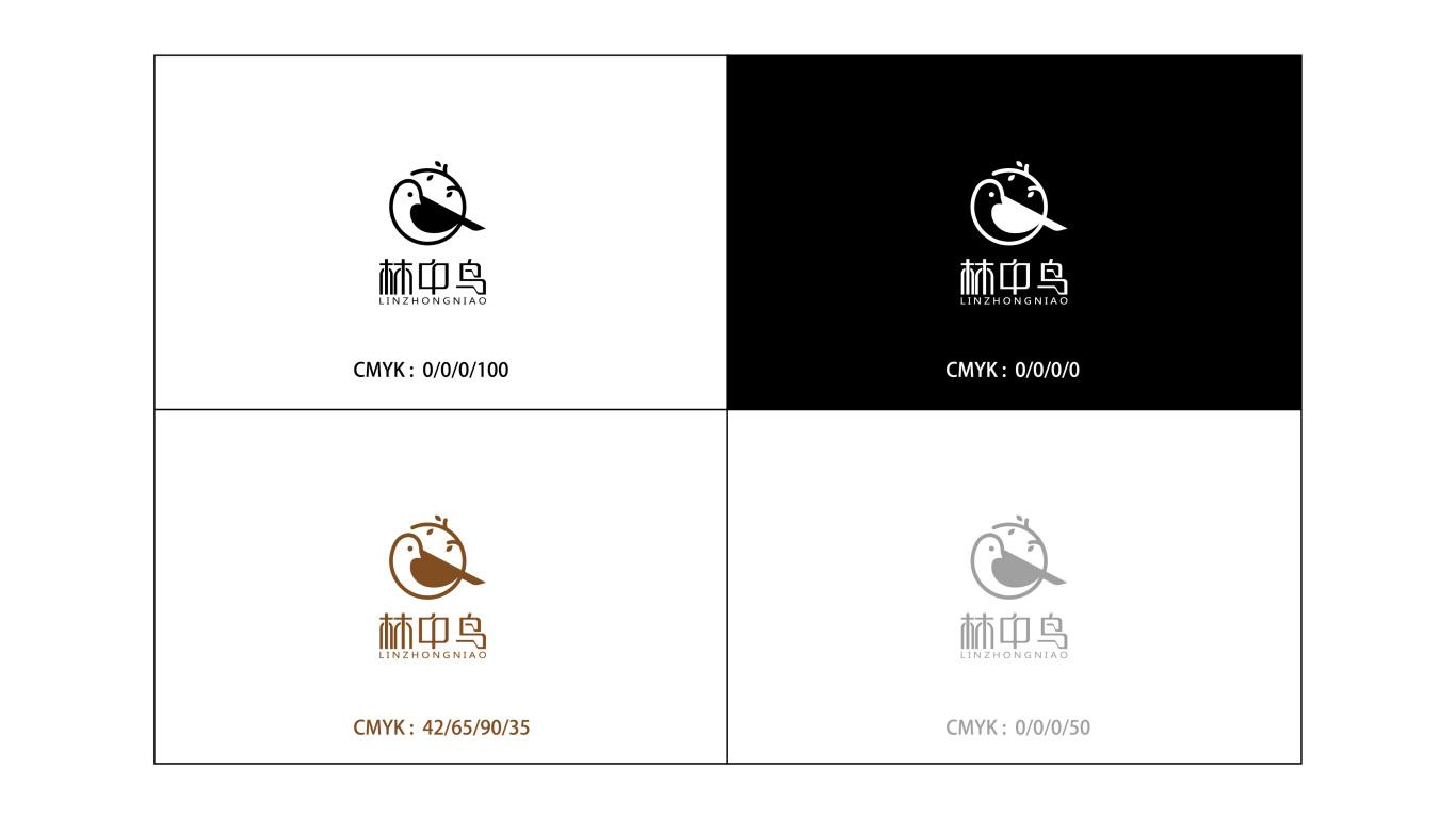 林中鸟服装公司LOGO设计中标图1