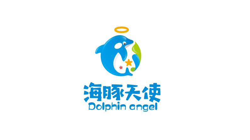 海豚天使公司LOGO设计