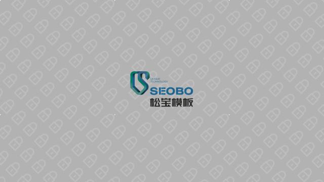 松宝工程公司LOGO设计入围方案0
