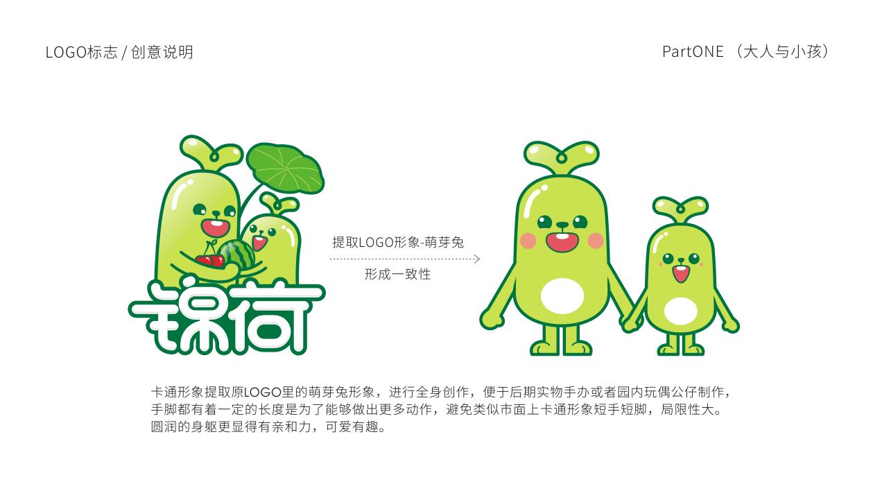 锦荷吉祥物设计中标图1