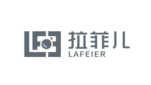 拉菲儿视觉摄影公司LOGO设计
