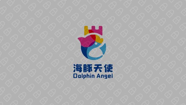 海豚天使公司LOGO设计入围方案2