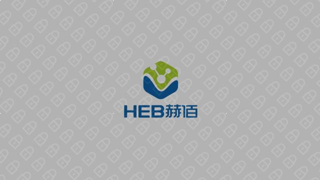 赫佰生物科技公司LOGO设计入围方案3