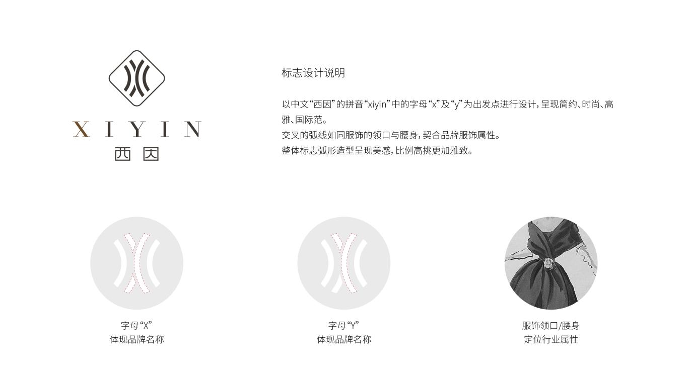 西因服饰品牌LOGO万博手机官网中标图1