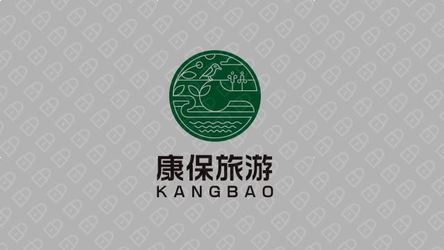 康保旅游公司LOGO设计入围方案3