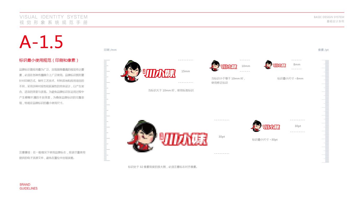 川小妹餐饮品牌VI设计中标图6