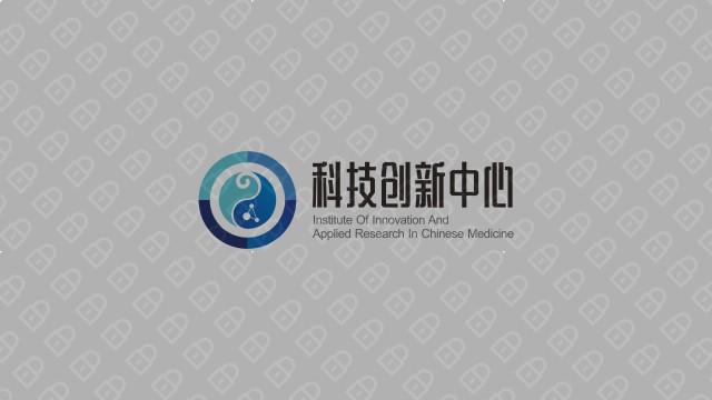 湖南中医药大学科技创新中心LOGO设计入围方案1