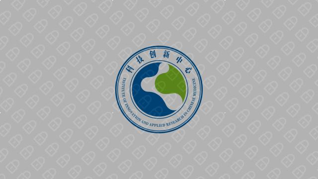 湖南中医药大学科技创新中心LOGO设计入围方案4