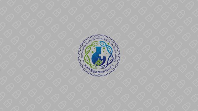 湖南中医药大学科技创新中心LOGO设计入围方案6