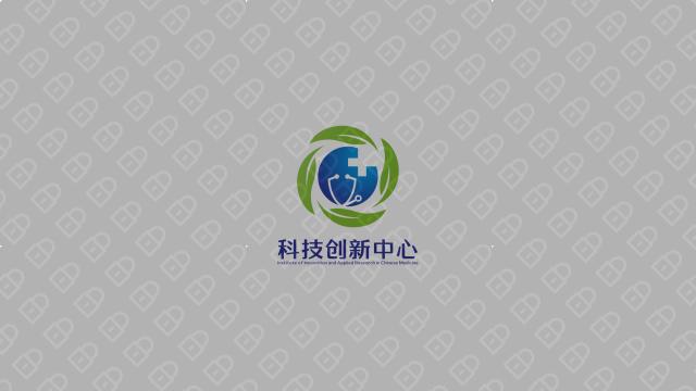 湖南中医药大学科技创新中心LOGO设计入围方案8