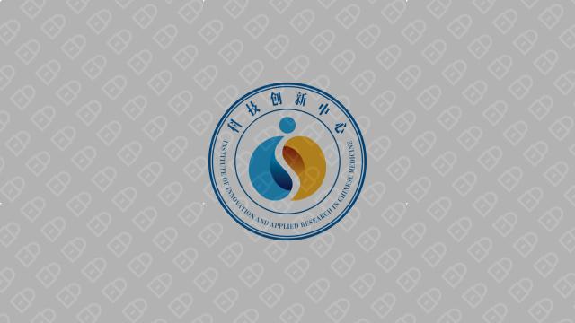 湖南中医药大学科技创新中心LOGO设计入围方案3