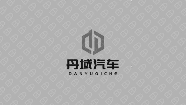 丹域汽车品牌LOGO设计入围方案3