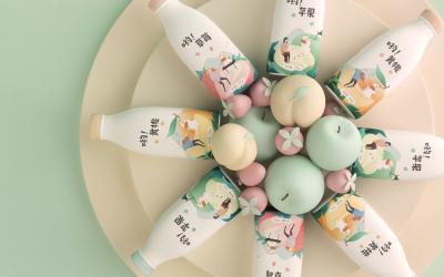 呦!Yogurt 酸奶品牌设计