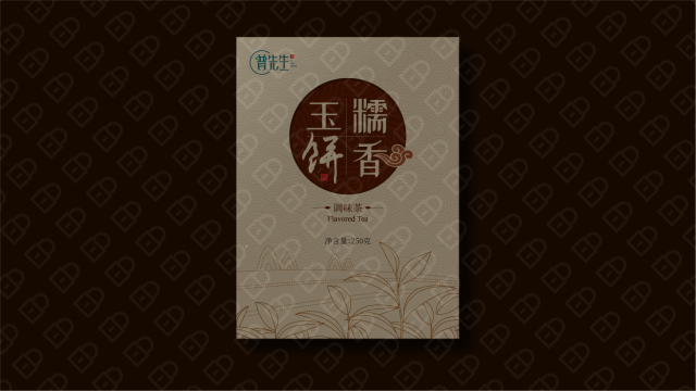 普先生茶叶品牌包装设计入围方案5