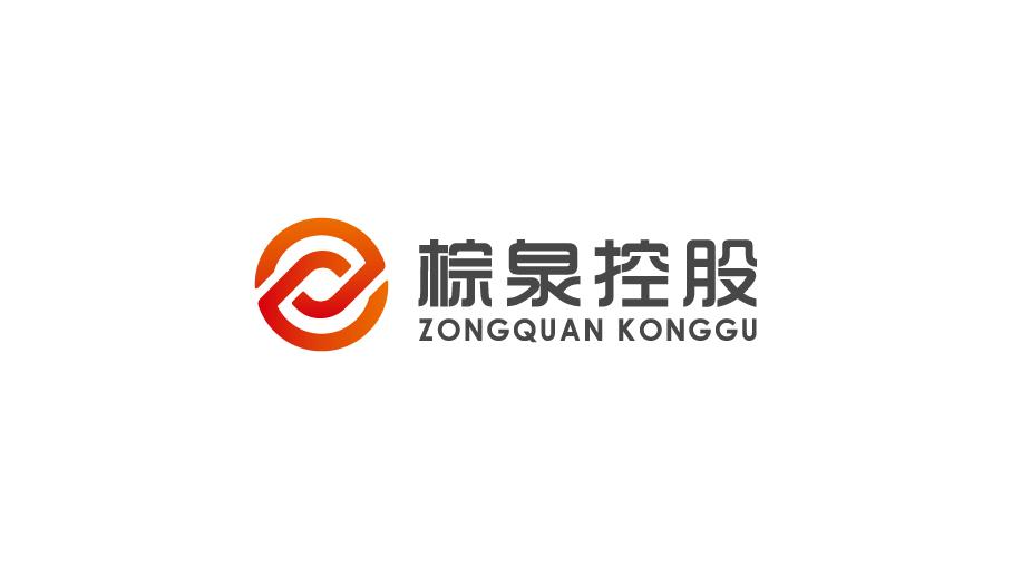 棕泉控股公司LOGO设计